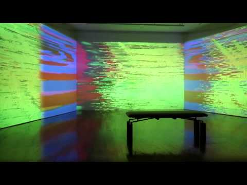 Botborg - Neural Luminance Amplifier (multi-projection installation)