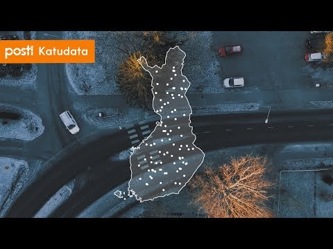 Posti Katudata -tilannekuvapalvelu kerää tietoa katujen ja teiden kunnosta Postin päivittäisten jakelu- ja kuljetusajojen yhteydessä. Näin saadaan ajantasaista tietoa esim. katujen kunnosta, keli- ja sääoloista sekä liikenteen poikkeustilanteista. https://minun.posti.fi/ps-katudata