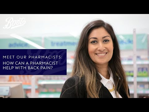 boots.com & Boots Discount Code video: Meet our Pharmacists | How can a Pharmacist help with back pain? | Boots UK