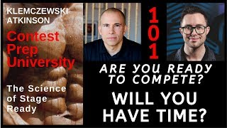 Contest Prep University EP-101 Are You Ready To Compete? Will You Have Time?