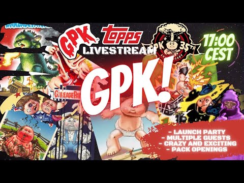 GPK OS2 RELEASE PARTY! | NFT launch on WAX | Pack openings | chatting
