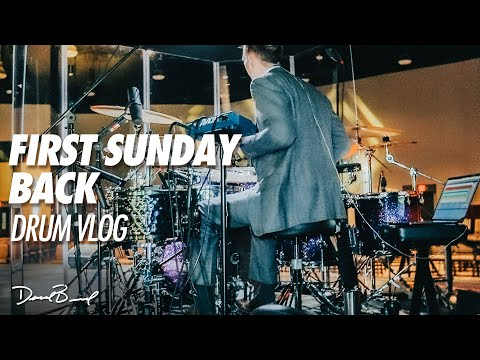 Our First Sunday Back! // Drum Vlog
