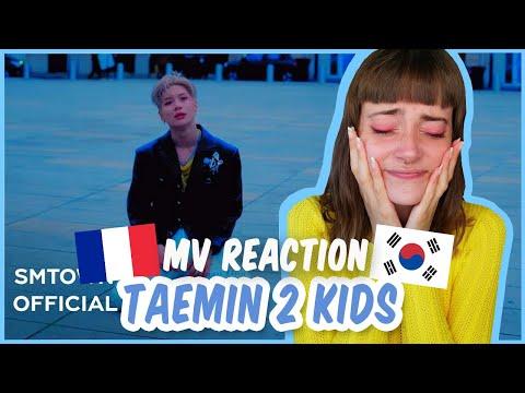 StoryBoard 0 de la vidéo MV REACTION TAEMIN - 2 KIDS (FRENCH)