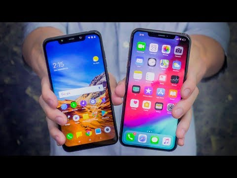 $400 Pocophone F1 vs $1100 iPhone XS Max - UCXGgrKt94gR6lmN4aN3mYTg
