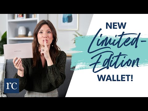 New Limited-Edition Wallet! Watch This Before It Sells Out.