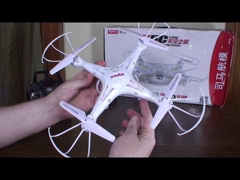 Syma - X5C Explorers - Review and Flight (Indoors and Outdoors) - UCe7miXM-dRJs9nqaJ_7-Qww
