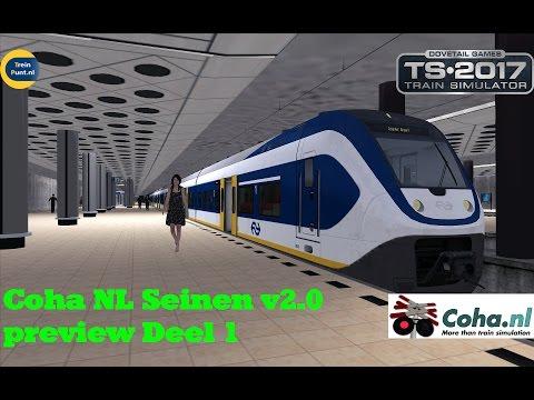 Coha NL Seinen v2.0 preview   Deel 1   Train Simulator 2017
