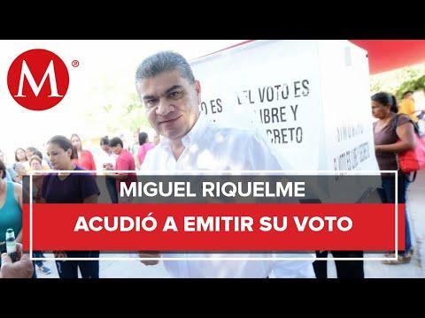 Hasta el momento jornada electoral va tranquila: Miguel Riquelme
