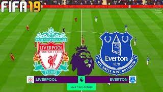 FIFA 19 | Liverpool vs Everton - Premier League - Full Match & Gameplay