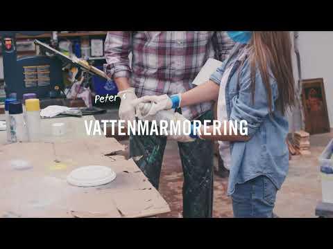 Gör det själv - Vattenmarmorering