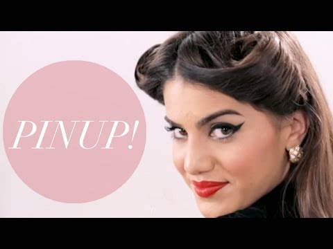 Sexy 1950s Pinup Makeup for 4th of July - Beauty Pop! with Camila Coelho   The Platform - UC9m-qxco1XNevlxSvqyUouQ
