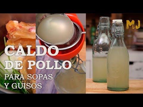 CALDO DE POLLO CASERO | Trucos y consejos para hacerlo a tu gusto
