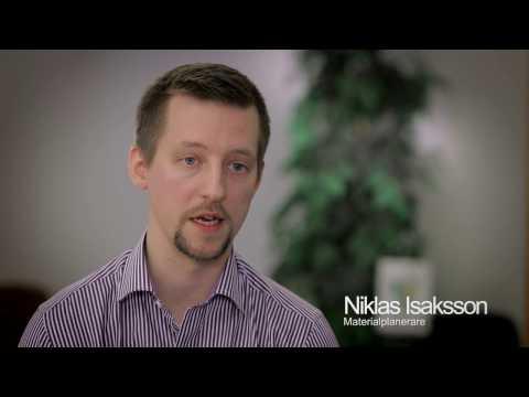 Niklas Isaksson, Materialplanerare, Umeå Energi