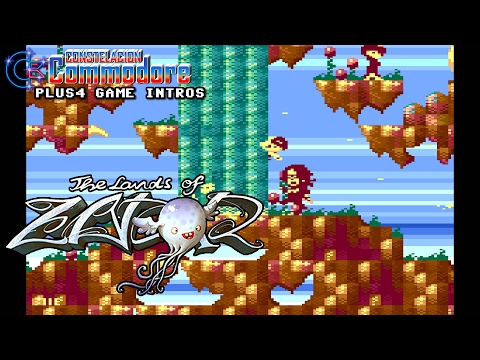 PLUS4 Game Intro: The Lands of Zador (Bauknecht/Psytronik Software,2016)