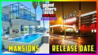 GTA 5 Online Casino DLC Update - NEW DETAILS! Release Date Clues, Mansions Possible & MORE! (GTA 5)