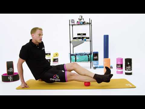 Workout Wednesday - Calf exercise using a Meglio massage ball