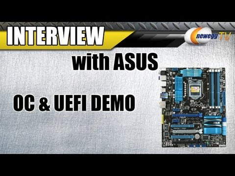 Newegg TV: Sandy Bridge Overclocking & UEFI Demo on ASUS P8P67 P67 1155 - UCJ1rSlahM7TYWGxEscL0g7Q