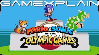 Mario & Sonic at the Olympic Games Tokyo 2020 – Classic 2D events Reveal Trailer