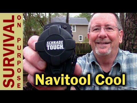Schrade ST175 Navitool Survival Kit Gadget - Pretty Cool