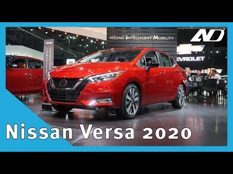 Nissan Versa 2020 - El patito que quiere ser cisne - #NYIAS2019