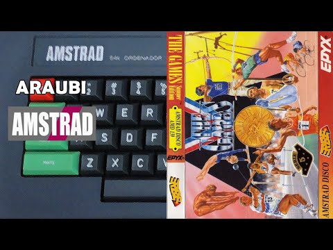 The Games Summer Edition (Epyx, 1989) Amstrad [012] 4P Vicente, Jordi y Cabu Walkthrough Comentado