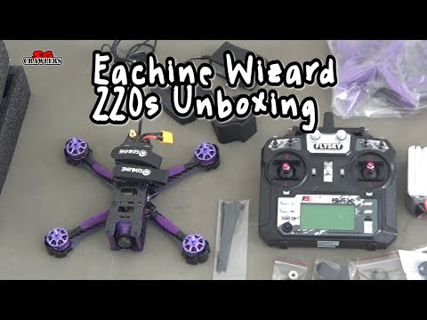 Unboxing and First Look: Eachine Wizard X220S FPV Racer RC Drone Omnibus F4 - UCfrs2WW2Qb0bvlD2RmKKsyw