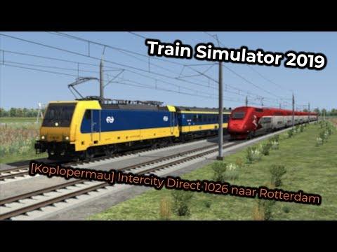 [Koplopermau] Intercity Direct 1026 naar Rotterdam (Livestream 03/02/2019)