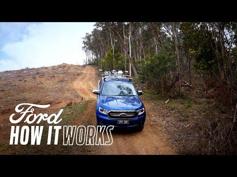 Slik bruker du Nedoverbakkekontroll | Ford Ranger | Ford Norge