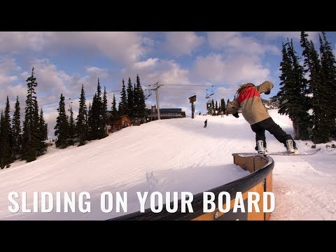Sliding On Your Board