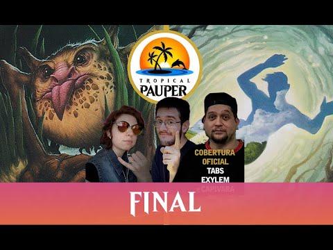 Boros Monarca VS Bogles - Tropical Pauper - Narração ao vivo - Final