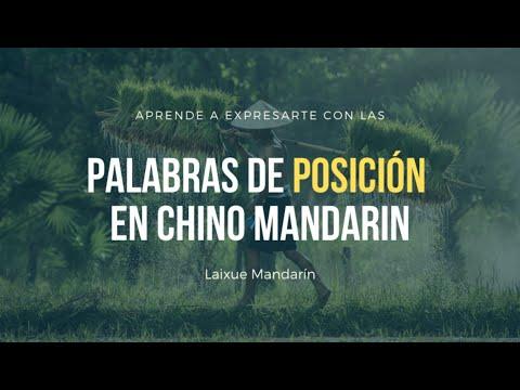 Lección #33: Palabras de posición en chino mandarín