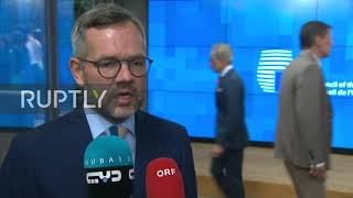 Belgium: Sanctions a possibility over Turkey's Cyprus drilling - German Minister of State for Europe