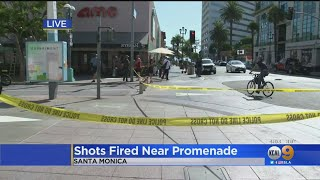 Brinks Security Guard Shoots Man With Knife At Third Street Promenade