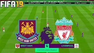 FIFA 19 | West Ham United vs Liverpool - Premier League - Full Match & Gameplay