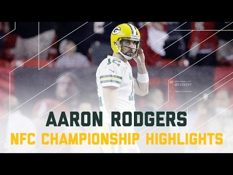 Aaron Rodgers Struggles! | Packers vs. Falcons | NFC Championship Player Highlights