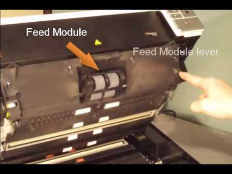 Kodak i2900-i3000 Scanner - Replace Feed Module Preview
