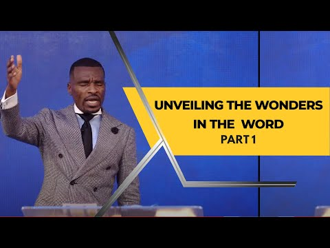 Unveiling The Wonders in The Word Part 1  8AM  Isaac Oyedepo