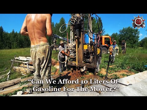 Drilling For The Most Valuable Asset   Backwoods Homestead Life