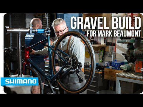 Building a GRX gravel bike with round-the-world record holder Mark Beaumont | SHIMANO