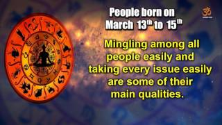 Basic Characteristics of people born between March 13th to March 15th