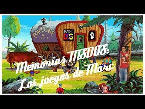 Memorias MSDOS: Los juegos de Marc