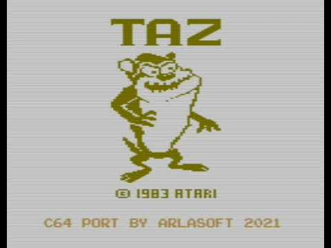 Taz (c) 2021 Arlasoft p/ Commodore 64 - Un review de RETROJuegos