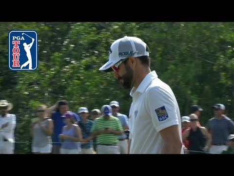 Adam Hadwin?s chip-in birdie is the Shot of the Day 2018