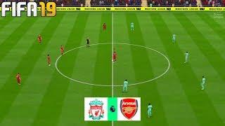 FIFA 19 | Liverpool vs Arsenal - Premier League 2019/20 - Full Match & Gameplay