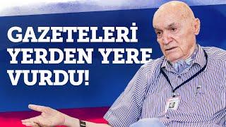 HINCAL ULUÇ GAZETELERİ YERDEN YERE VURDU! #Gazeteciler