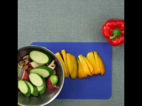 DaVita Eats: Roasted Vegetable Salad