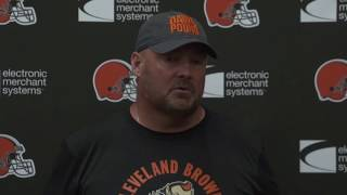 Freddie Kitchens on His Plans for Playing Time Against the Buccaneers - MS&LL 8/21/19
