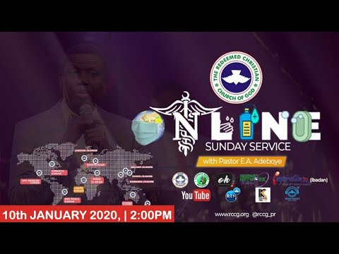 RCCG JANUARY 10TH 2020  PASTOR E.A ADEBOYE SPECIAL SERVICE