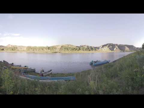 360 Virtual Tour: Morning on the Missouri River at Cow Island
