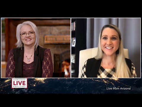 Charis Daily Live Bible Study: God is Good - Deanne Gissel - February 22 , 2021